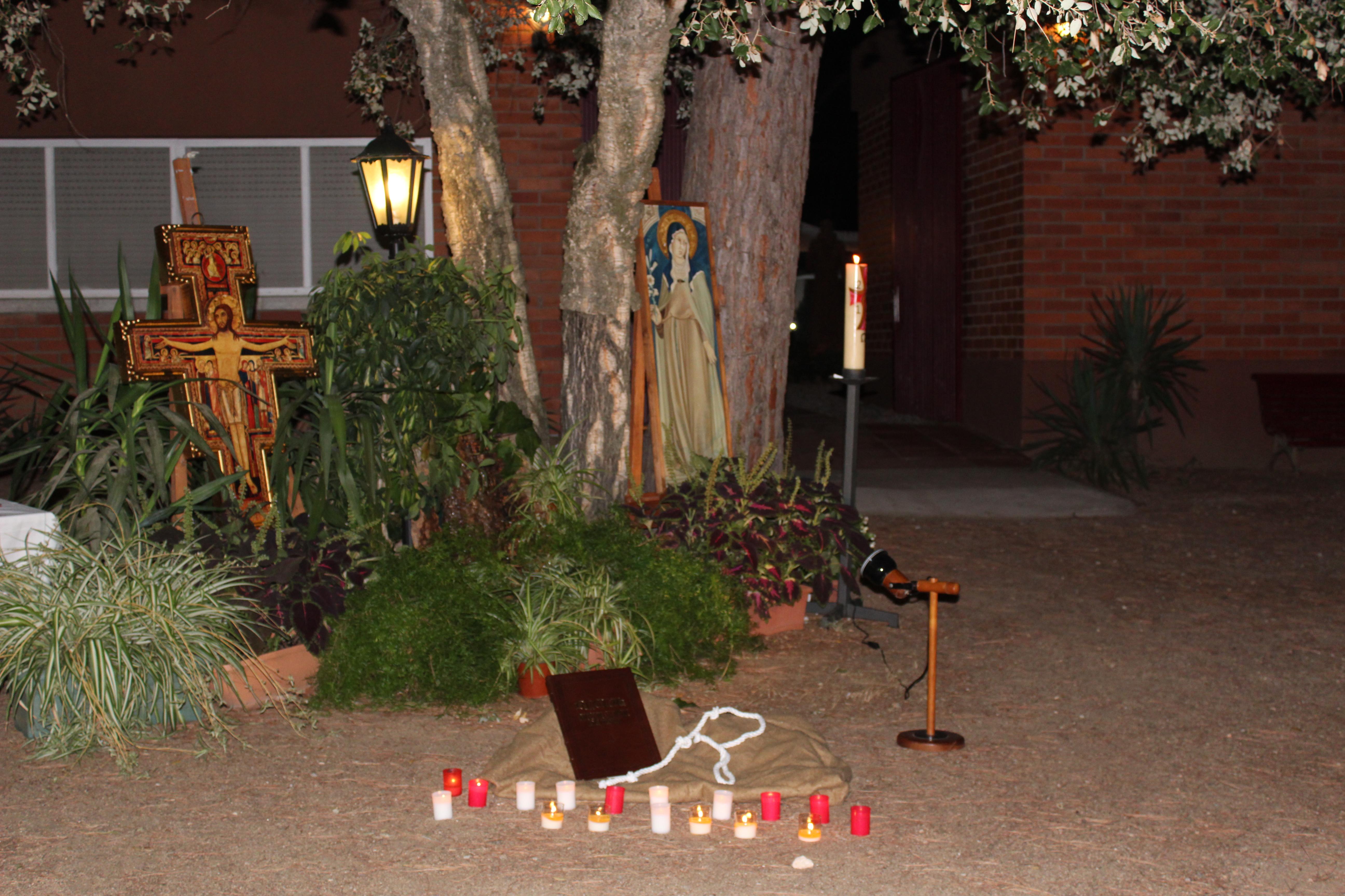 Santa Clara, artesana de bona entesa, prega per nosaltres